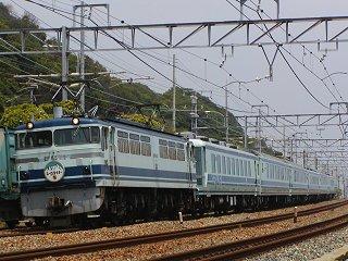 JR神戸線のジョイフルトレイン