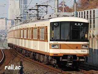 神戸鉄道資料館~北神急行7000系...